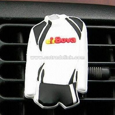 Car Air Freshener in Sports Jersey Design