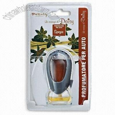 Car Air Freshener with Activity Fan and Vent Fresh Style