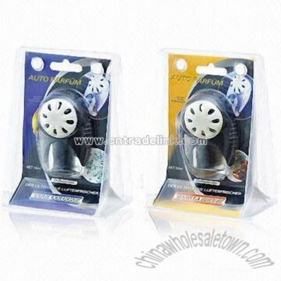 Car Air Freshener with Glass Container
