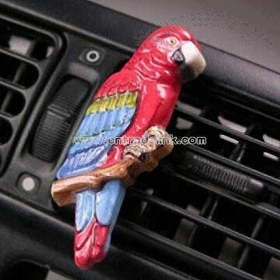 Car Air Freshener with Parrot Shaped