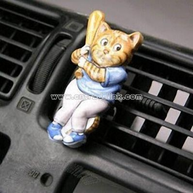 Car Air Freshener with Plastic Fragrance Pad
