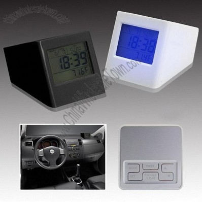 Car Alarm Clock