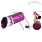 Car Auto Tail Exhaust Pipe Muffler Purple Silver Tone