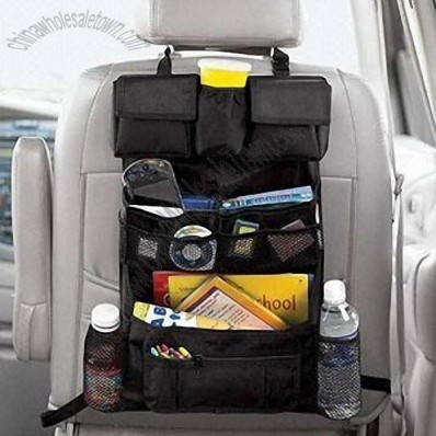 Car Back Seat Organizer, Customized Labels and Logos are Welcome