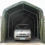 Car Canopy Tent with 3-zipper Door