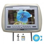 Car DVD 7 Inch Head Rest TFT LCD Monitor, TV & DVD