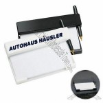 Car Dashboard Notepad and Pen