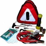 Car Emergency Kit with Plastic Handle and 1 Piece Screwdriver
