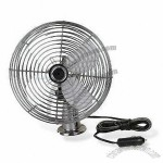 Car Fan with Full Safety Metal Guard and 8-inch Oscillation