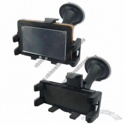 Car GPS Holder with 100 to 140mm Adjustable Clamp Arm