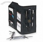 Car Glove Box Kit with Multi-Tool, Calculator, Pen, Tire Gauge & Flashlight