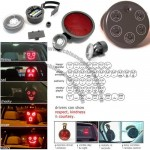 Car Kit LED Display Panel Fun Message Board Sign Lights