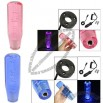 Car LED Light Bubble Gear Shift Knob 150mm + Cigarette Lighter Cable