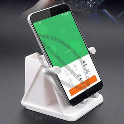 Car Mount Mobile Phone Clamp Holder With Pocket Storage