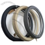 Car PU Steering Wheel Cover