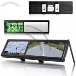 Car Rearview Mirror + GPS Navigator (4.3