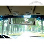 Car Rearview Mirror with Diamond