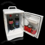 Car Refrigerator/Mini Cooler and Warmer with 13.5L Capacity