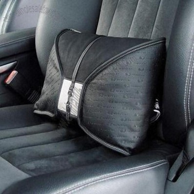 Car Seat Lumbar Cushion, Easy to Install, with Strong Ribbon