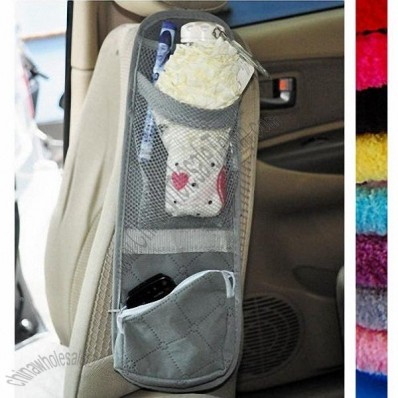 Car Seat Side Organizer, Space Saver + One BDS Ponytail Holder