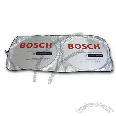 Car Shade with Silver Coating for Front Window