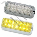 Car Strobe Light with 14 Pieces LED Quantity, 10 to 30V Voltage Range