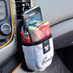 Car cell phone storage bag