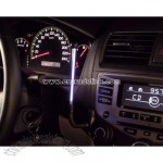 Car sound-controlled dash light