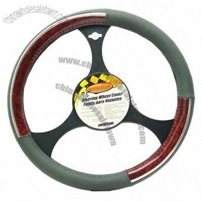 Car steering wheel cover, easy to install