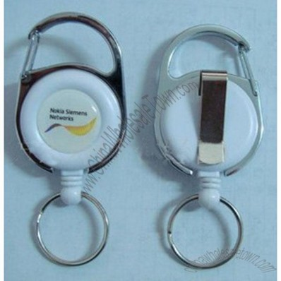 Carabiner Badge Holder