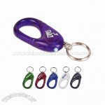 Carabiner/LED Key Chain
