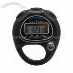 Carabiner Stopwatch with Clock