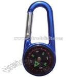 Carabiner With Built-in Compass