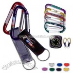 Carabiner with full color photographic logo