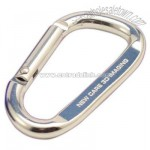 Carabiner with key ring