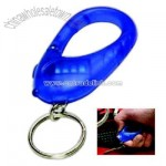 Carabiner with light and key holder