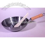Carbon Steel Polish Wok
