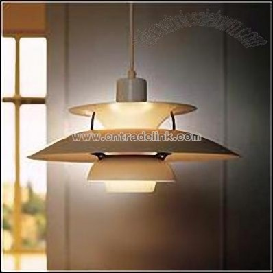 Carbon steel chromeplated Pendant Lamp