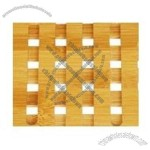 Carbonized Bamboo Coaster
