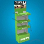 Cardboard Floor Displays Cases Store with Matte Lamination