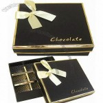 Cardboard Gift Box/Chocolate Gift Box, Hot Stamping, Inserting