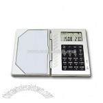 Cardcase Calculator With Calendar Clock