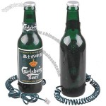 Carlsberg Beer Bottle Shaped Wired Home Office Table Landline Telephone
