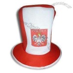 Carnival Hats with 26cm Height and Heat-transfer Image Printing