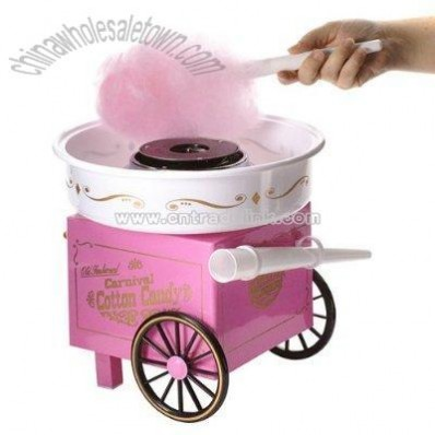 Carnival-Style Cotton Candy Maker