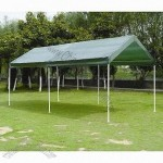 Carport Tent with Steel Tube Frame, Water-resistant
