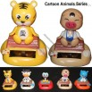 Cartoon Animals Series Solar Powered Dancing Toy