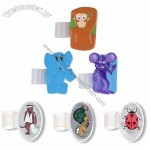 Cartoon Animals Stethoscope ID Tag