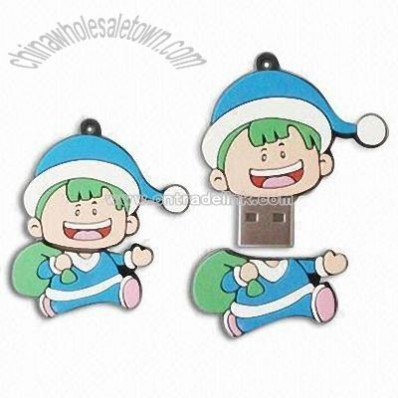 Cartoon Boy USB Flash Drives