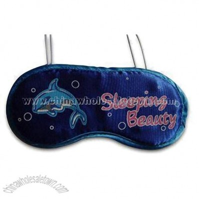 Cartoon Design Eye Mask with Elastic Bands at Back